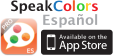 SpeakColors Español Pro - Available on the App Store